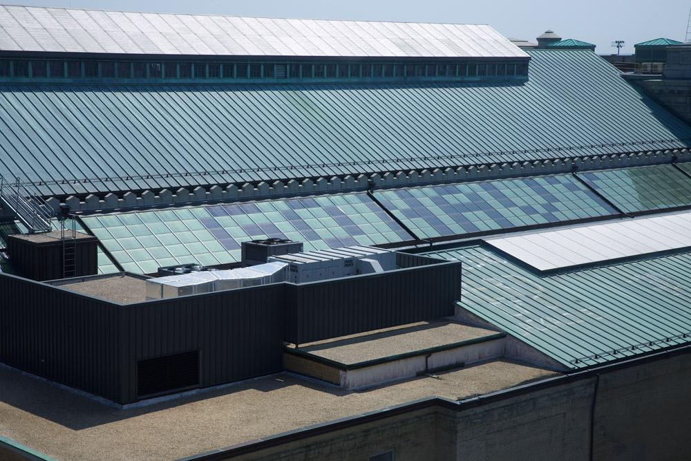 SageGlass Electrochromic Glass at MacDonough Hall US Naval Academy, Anapolis (USA)