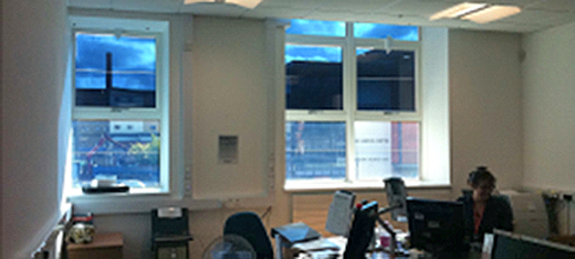 Pioneering study on EC glazings
