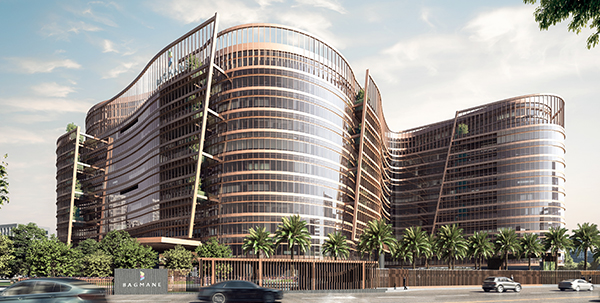 Rendering of Rio Business Park, Bangalore, India