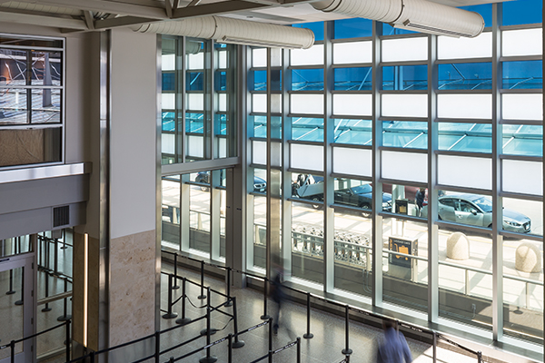 Minnesota-St. Paul Airport | Dynamic Glass Installation