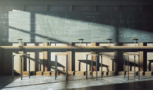 Effects of glare in schools
