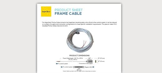 Symphony Frame Cable