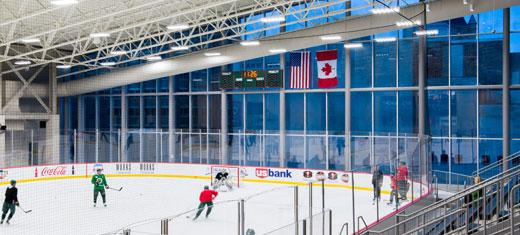 Minnesota Wild's official practice facility