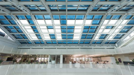 SageGlass Electrochromic Glass at IATA Executive Office, Geneva Airport (Switzerland)