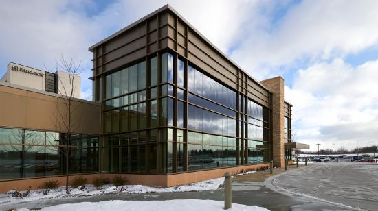 SageGlass Electrochromic Glass at Fairview Ridges Hospital, Burnsville (USA)