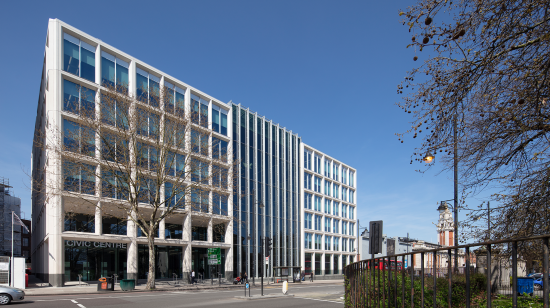 Lambeth Civic Centre with SageGlass