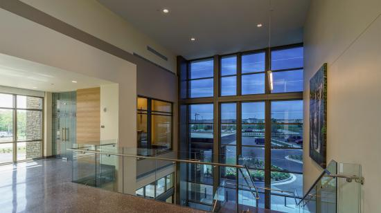 SageGlass Electrochromic Glass at Mercy Orthopedic Hospital, Fort Smith (USA)