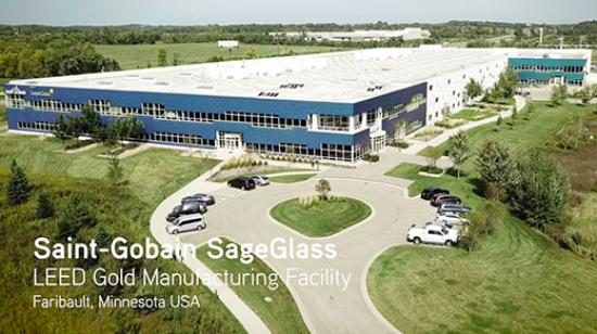 SageGlass - LEED Gold Manufacturing Facility