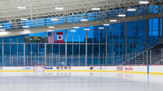 TRIA Rink at Treasure Island Center (USA)