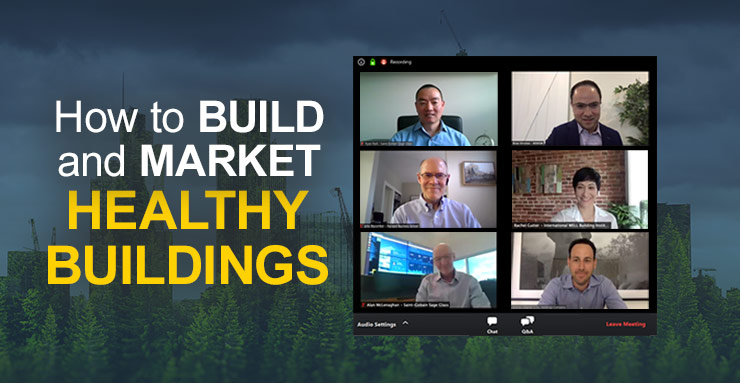 HOW TO BUILD AND MARKET HEALTHY BUILDINGS
